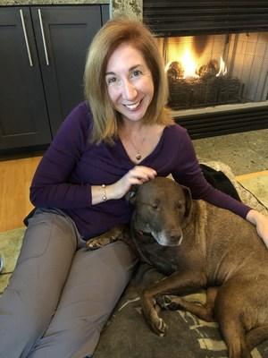 """""""My Old Dog"""" author Laura Coffey adopted 10-year-old chocolate Labrador retriever mix """"Coco"""" and says it was one of the moves she's ever made."""