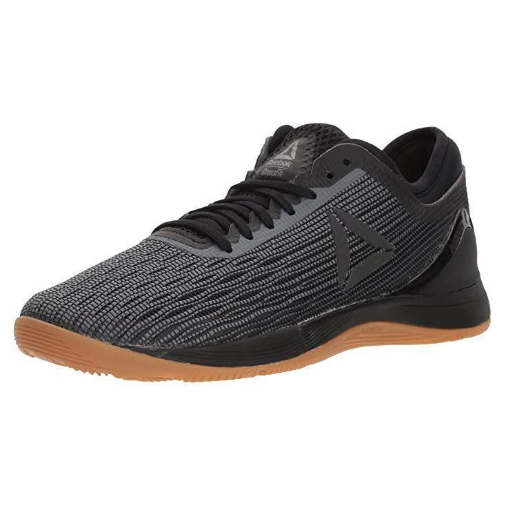 """<p><strong>Reebok</strong></p><p>amazon.com</p><p><strong>$84.48</strong></p><p><a href=""""http://www.amazon.com/dp/B073XJNBPD/?tag=syn-yahoo-20&ascsubtag=%5Bartid%7C10055.g.32379201%5Bsrc%7Cyahoo-us"""" rel=""""nofollow noopener"""" target=""""_blank"""" data-ylk=""""slk:Shop Now"""" class=""""link rapid-noclick-resp"""">Shop Now</a></p><p>For the CrossFit fan, you need a shoe that'll keep your feet supported, but is still lightweight for easy movements when completing high impact training. With the ultimate goal of strength, these sneakers from Reebok are <strong>designed to go easily from lifting weights to push-ups and squats.</strong> Reviewers appreciate the flat, stable bottom with a snug knit upper that stays in place, but doesn't dig in. One reviewer especially loves that """"they're extremely supportive with a good amount of flex, great for all cross training."""" Available in 23 colors, we love that this sleek sneaker can easily go from the gym to social events.</p>"""