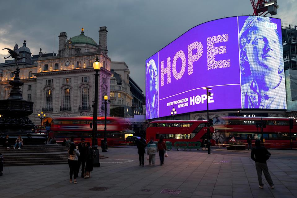 <p>The company operates the iconic Piccadilly Lights ad space for Landsec</p> (Ocean Outdoor)