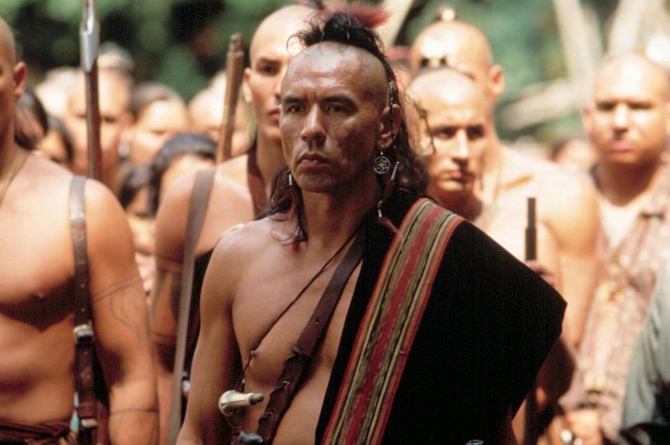 Studi as Magua in 'The Last of the Mohicans' (Photo: 20th Century Fox Film Corp./Courtesy Everett Collection)
