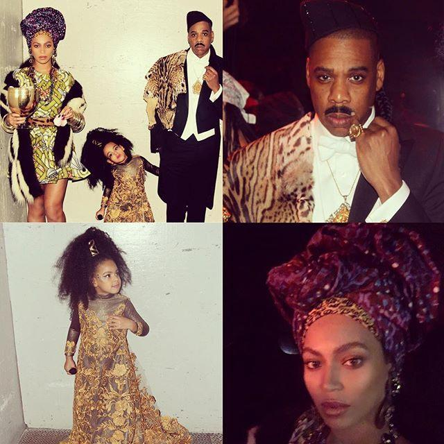 """<p>You can't talk great '80s movies without bringing up <em>Coming to America</em>. Nail the looks as perfectly as Beyoncé, Jay-Z, and Blue did, and you'll definitely take home best costume of the night.</p><p><a href=""""https://www.instagram.com/p/9jpK_LPw2T/?utm_source=ig_embed&utm_campaign=loading"""" rel=""""nofollow noopener"""" target=""""_blank"""" data-ylk=""""slk:See the original post on Instagram"""" class=""""link rapid-noclick-resp"""">See the original post on Instagram</a></p>"""