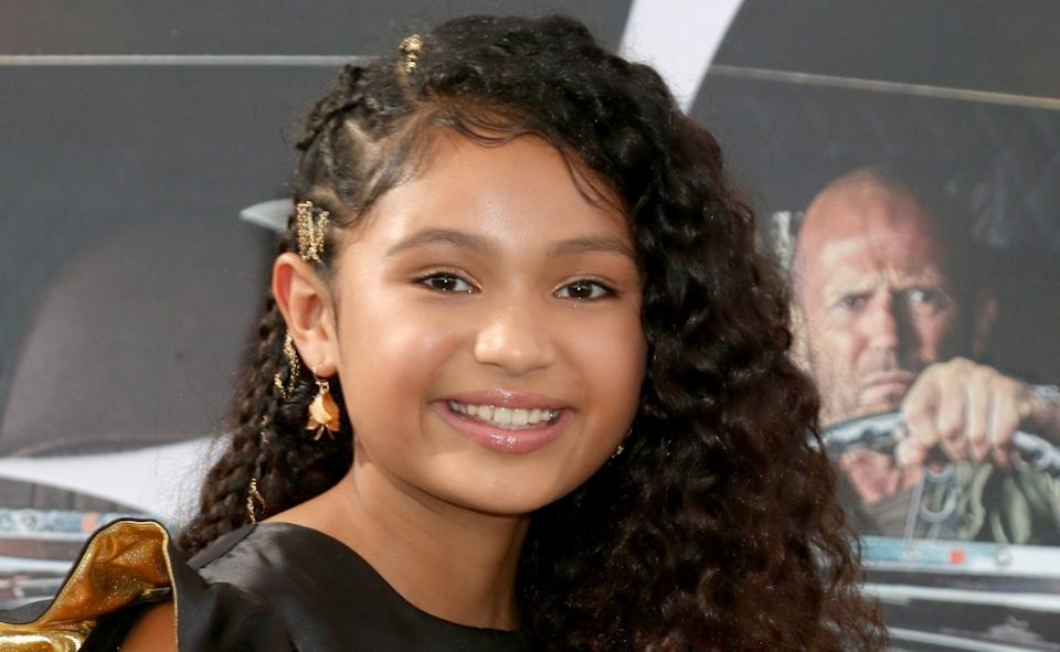Eliana Su'a at arrivals for the 'Hobbs & Shaw' premiere in Los Angeles (Photo: Priscilla Grant/Everett Collection)