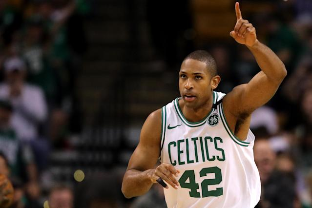 Al Horford had 26 points and eight rebounds Saturday night. (AP)