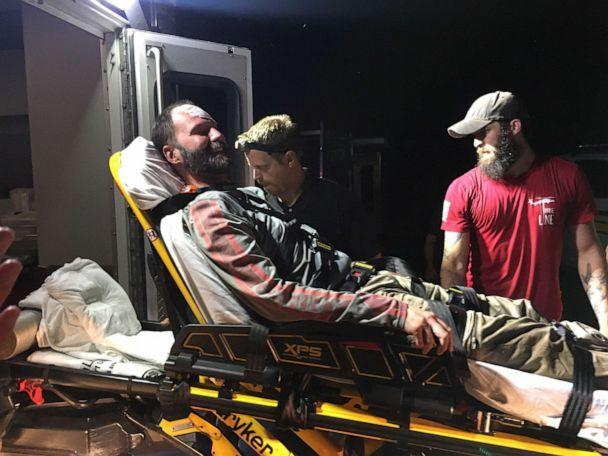 PHOTO: Josh McClatchy, 37, was rescued after six days in the Arkansas woods on Friday, June 7, 2019, after he got lost on a hike in Polk County. (Courtesy Josh Obeidin)
