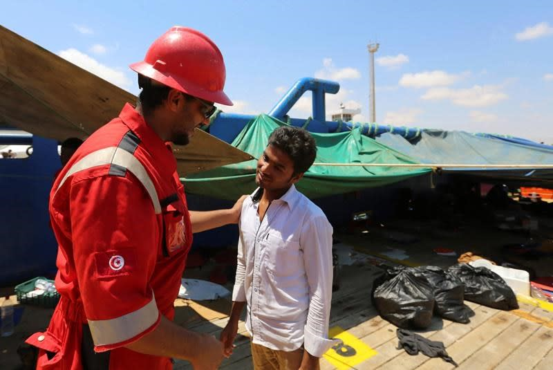 Tunisians fleeing economy, not COVID, cause tension in Italy