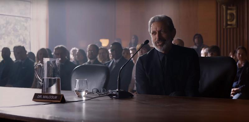 Jeff Goldblum Returns as Dr. Ian Malcolm in New 'Jurassic World: Fallen Kingdom' Teaser Featurette