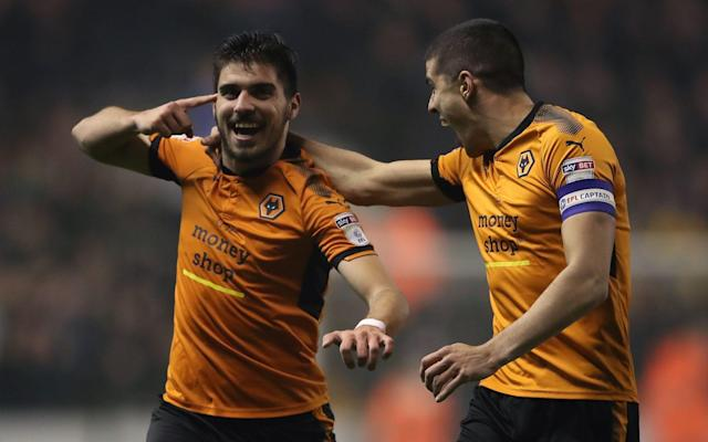 "Derby manager Gary Rowett hailed Ruben Neves as ""a Champions League player"" after the stunning strike that took Wolves to the brink of a return to the Premier League. The Molineux club's £15.8 million record signing hit the goal of the Championship season early in the second half to put Molineux in party mood ahead of a Sunday lunchtime clash with Birmingham City that will confirm promotion and perhaps the title if they win. Positioned almost 30 yards from goal as Derby's Chris Baird headed away a corner, the former Porto player flicked the ball up, slightly behind him with the outside of his right boot, before delivering an angled, dipping volley high into the farthest corner of the Derby goal, giving Scott Carson no chance. ""It's the first time as a manager I've almost applauded the opposition's goal,"" Rowett said. ""I genuinely thought, what do you do about that? It was so good. He is 35 yards out, his touch is actually not brilliant because it takes the ball away from him, and the last thing our goalkeeper and back four think is he's going to shoot. ""To hit it with that precision, power, dip, accuracy, is Champions League stuff, not Championship stuff. ""They have three or four players who are Premier League standard but Neves is a Champions League player."" Top scorer Diogo Jota had taken advantage of some poor Derby defending to give his side a sixth-minute lead with his 15th Championship goal. The victory, Wolves' 28th of the season, stretches their lead over second-placed Fulham to 11 points and gives them a 12-point advantage over Cardiff. Should Fulham drop points at Brentford on Saturday, their return to the Premier League after a six-year absence will be confirmed regardless of their result on Sunday, while a win would see them crowned champions as well with three matches to spare if Cardiff drop points at Norwich on Saturday. Wolves head coach Nuno Espirito Santo is not a man prone to excessiveness in his praise for his players – in contrast to some of his celebrations – but even he had to applaud Neves. ""He has great talent and we are very fortunate to have him,"" he said. ""It was a very good goal, a beautiful goal and I am very pleased. ""But it is all about the squad. You have to be humble and work hard and the rewards will come and now we focus on Sunday, the next game. It is no different."" Derby remain fifth but are far from certain of finishing in the play-off positions with only three points covering fifth to ninth place. Match details Wolverhampton Wanderers (3-4-3): Ruddy; Bennett, Coady, Boly; Doherty, Saiss, Neves, Douglas; Cavaleiro (Gibbs-White 82), Afobe (Costa 66), Jota (Bonatini 74). Substitutes not used: Norris (g), N'Diaye, Batth, Hause. Derby County (4-4-1-1): Carson; Wisdom, Pearce, Davies, Baird; Weimann, Huddlestone, Ledley (Palmer 73), Lawrence; Vydra (Hanson 85); Nugent (Jerome 81). Substitutes not used: Roos (g), Forsyth, Keogh, Thomas. Referee: Tim Robinson (West Sussex) Bookings: Wolves: Bennett. Attendance: 28,503."
