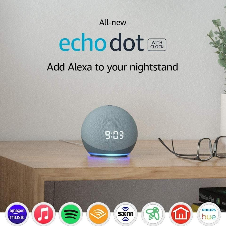 <p>The smart device that everyone seems to have, consider this <span>Amazon Echo Dot</span> ($60) your own personal assistant.</p>