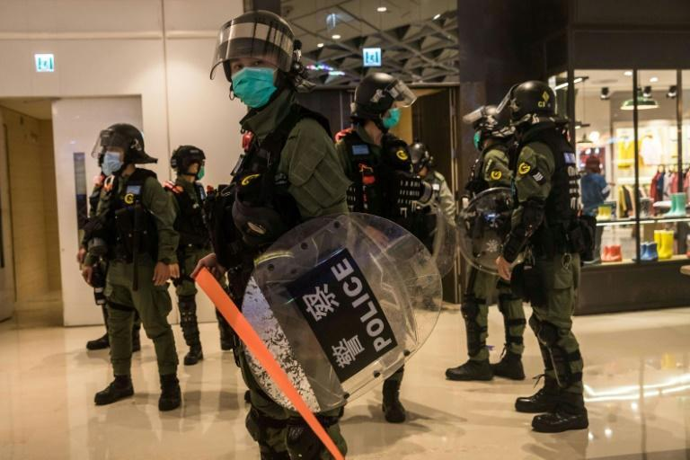 Publishing personal details online - known as doxxing - became a common tactic used by both sides of Hong Kong's political divide during last year's protests