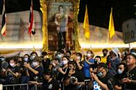 Prime Minister Prayut said the duty of the government was to protect the monarchy