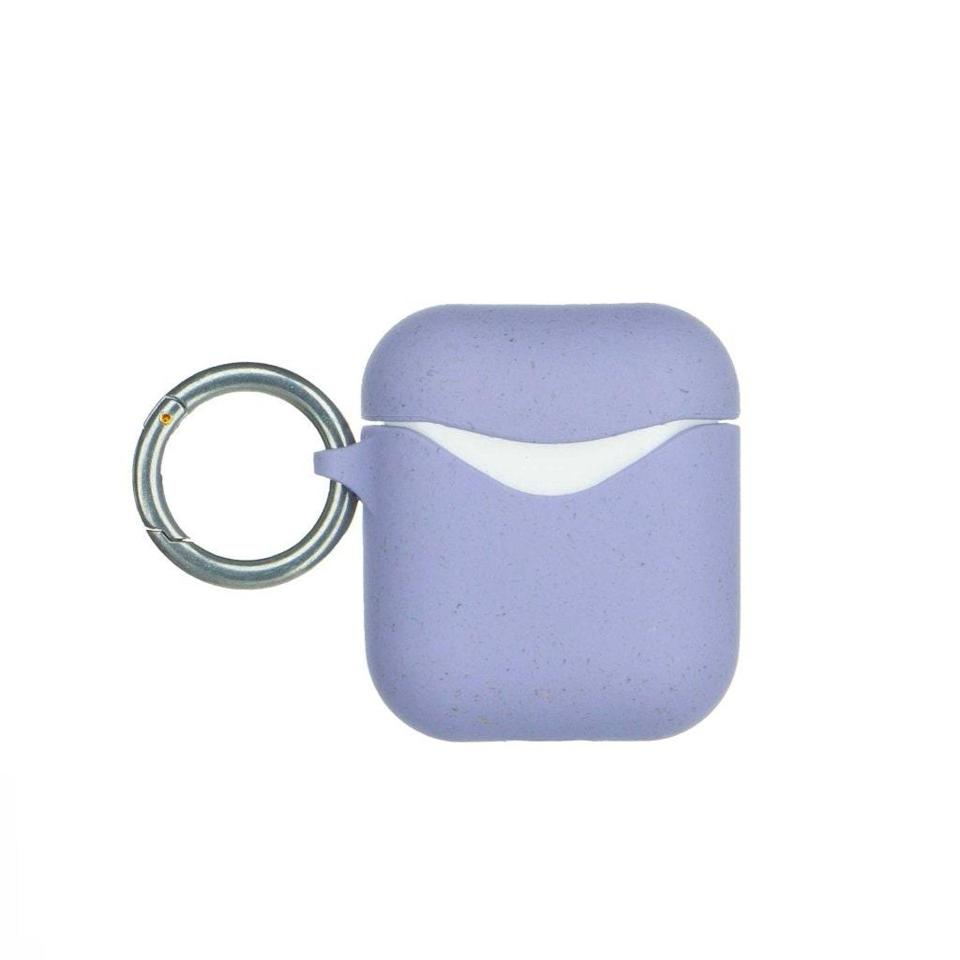 "The sustainably conscious music lover can keep their earbuds safe with the world's first compostable case, available in six offbeat shades. $25, Pela Case. <a href=""https://pelacase.com/products/lavender-eco-friendly-airpods-case"" rel=""nofollow noopener"" target=""_blank"" data-ylk=""slk:Get it now!"" class=""link rapid-noclick-resp"">Get it now!</a>"