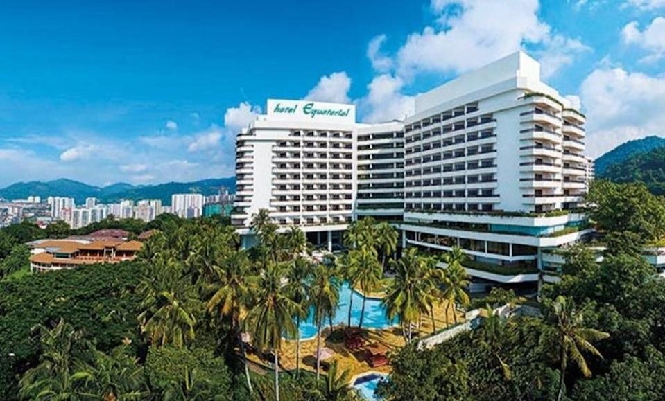 Hotel Equatorial Penang is set to close down effective March 31 this year. — Picture by Hotel Equatorial Penang