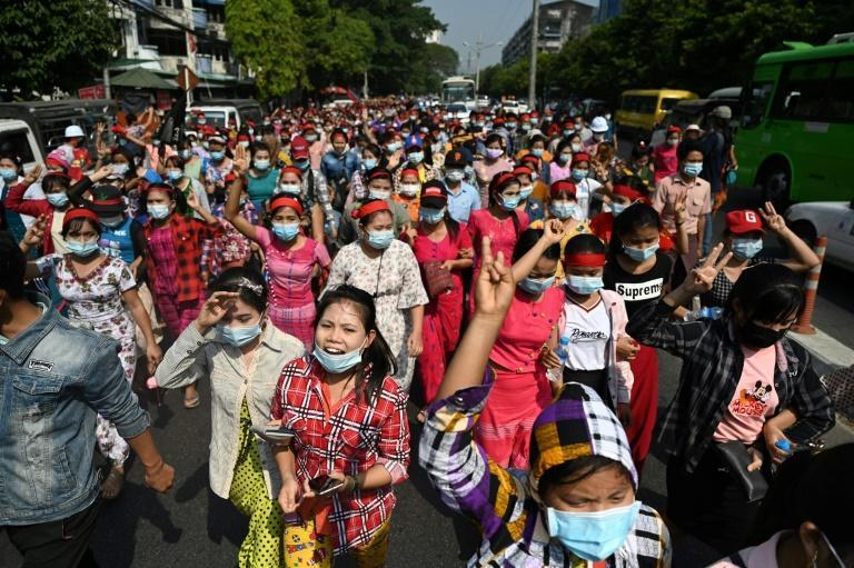 On Saturday, Myanmar was been plunged into its second internet shutdown of the week, almost completely halting the frenetic flow of news out of the country