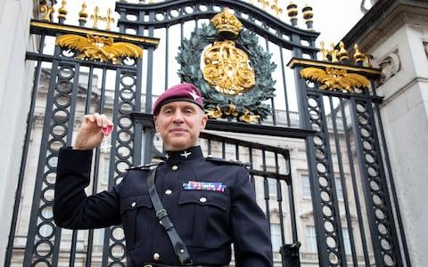 Captain Rudd has previously been a recipient of the MBE.