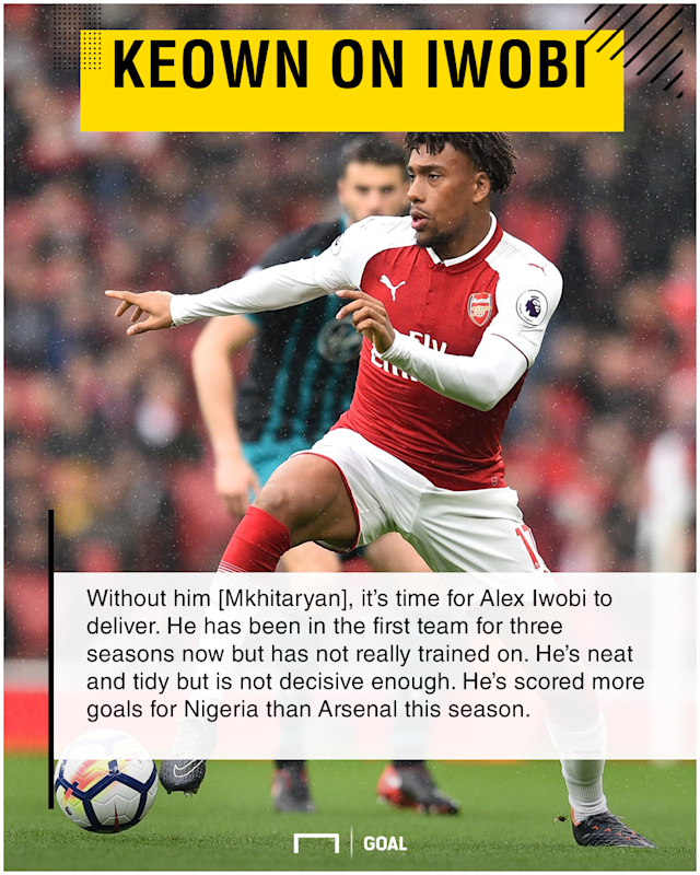 The Nigeria midfielder is in line to make another appearance as the Gunners look to finish off their Russian counterparts for a place in the last four