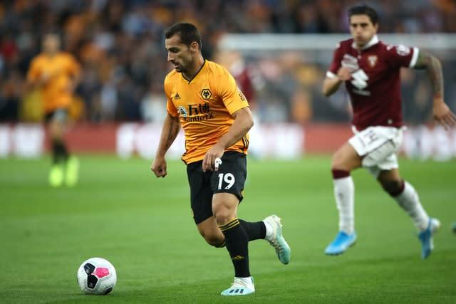 Jonny is available for Wolves after an ankle problem. (Nick Potts/PA)