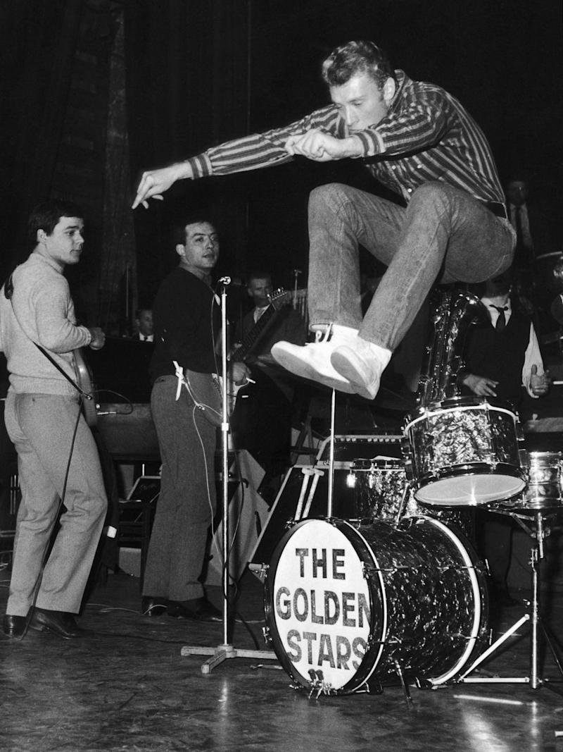 Hallydaywith his group The Golden Stars in 1962 (Hulton Archive/Getty)