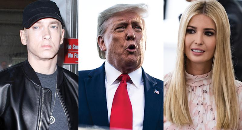 Eminem questioned by Secret Service over lyrics 'threatening' Ivanka Trump