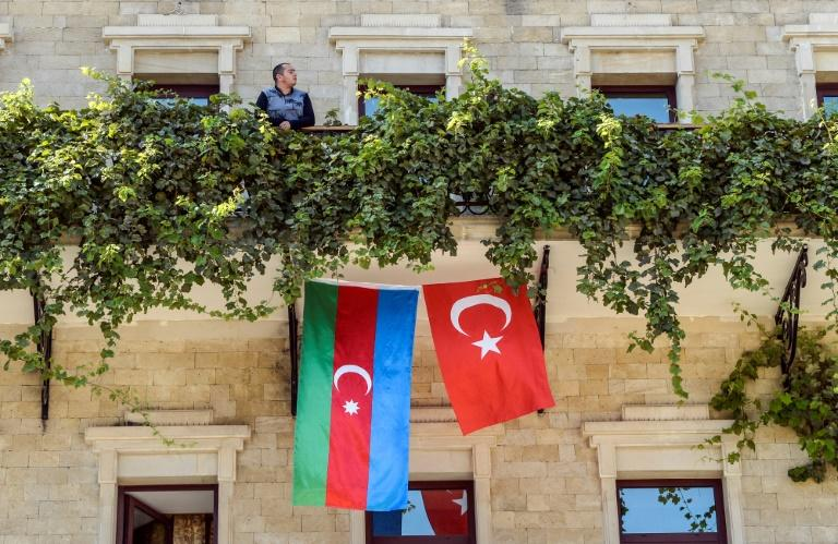 'Everyone wants a flag': Turkey support lifts spirits in Azerbaijan