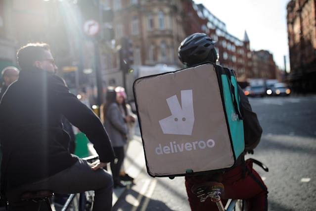 Food delivery firm Deliveroo is one of Checkout.com's high-volume customers. Photo: Jack Taylor/Getty Images
