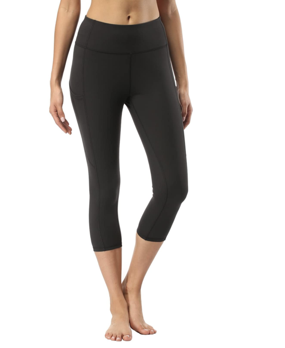 Adorence 3/4 Capris High Waist Yoga Pants for Women with Side Pockets - Amazon, from $27.