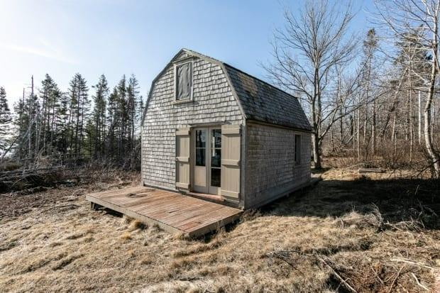The real estate listing for the Colville cabin calls it a chance to own 'a piece of Canadian history.'