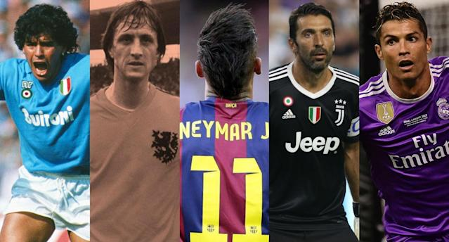 Neymar's transfer is not only the most expensive ever, it's also among the most influential. (Photos courtesy of Getty, FourFourTwo, AAP and Goal.com)