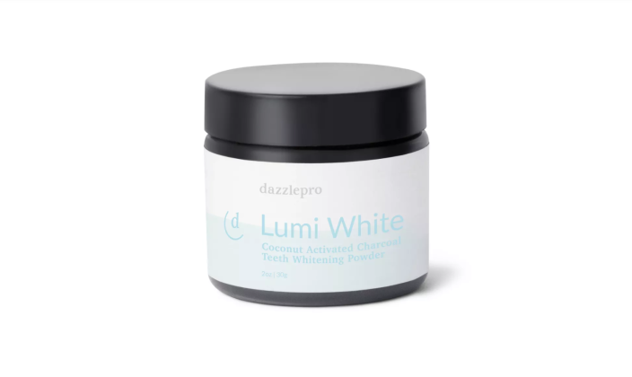 Dazzlepro Lumi White Activated Charcoal Teeth Whitening Powder (Credit: Target)