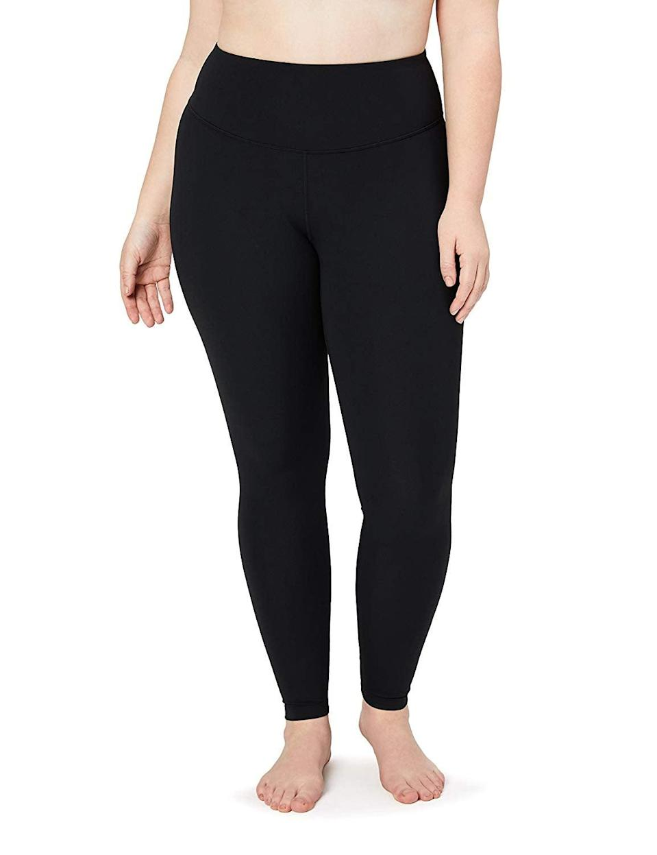 """<p>One woman said of the <span>Core 10 Women's Spectrum Yoga High Waist Full-Length Legging</span> ($21-$42), """"The only thing that I don't like about these leggings is that I have to take them off to shower and wash them.""""</p>"""