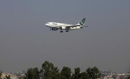 File photo of a Pakistan International Airlines (PIA) passenger plane arriving at the Benazir International airport in Islamabad, Pakistan