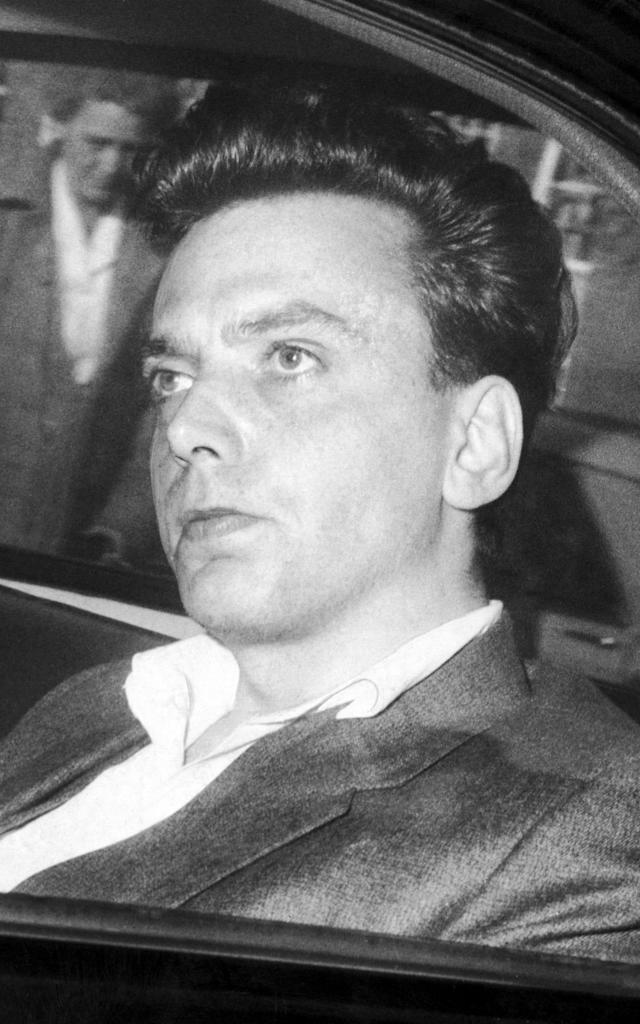 <span>Serial killer Ian Brady after his arrest in October 1966</span> <span>Credit: Manchester Evening News/Manchester Evening News </span>