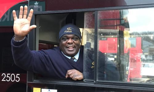 'I was homeless and a drug addict, but now I'm London's happiest bus driver'