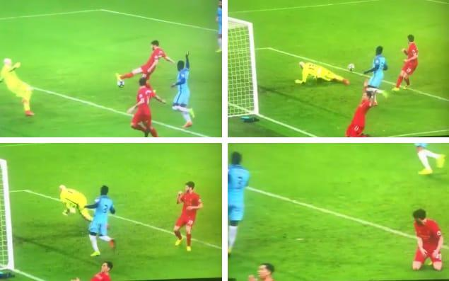 He may have seen it happen, but could Firmino bring himself to believe that Lallana could have possibly missed?
