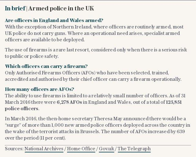 In brief | Armed police in the UK
