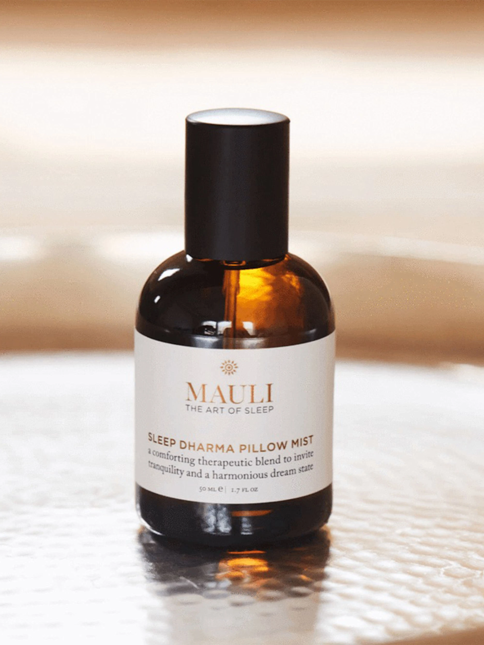 """<h3><strong>Sleep Dharma</strong> Pillow Mist</h3><br>If CBD sleep gummies or weighted blankets aren't your thing, try out this botanical sleep mist to help lull you to sleep with its comforting fragrance of vetiver, chamomile, and clary sage. <br><br><strong>Mauli Rituals</strong> Sleep Dharma Pillow Mist, $, available at <a href=""""https://go.skimresources.com/?id=30283X879131&url=https%3A%2F%2Fstandarddose.com%2Fcollections%2Fnew-arrivals%2Fproducts%2Fmauli-rituals-sleep-dharma-pillow-mist"""" rel=""""nofollow noopener"""" target=""""_blank"""" data-ylk=""""slk:Standard Dose"""" class=""""link rapid-noclick-resp"""">Standard Dose</a>"""