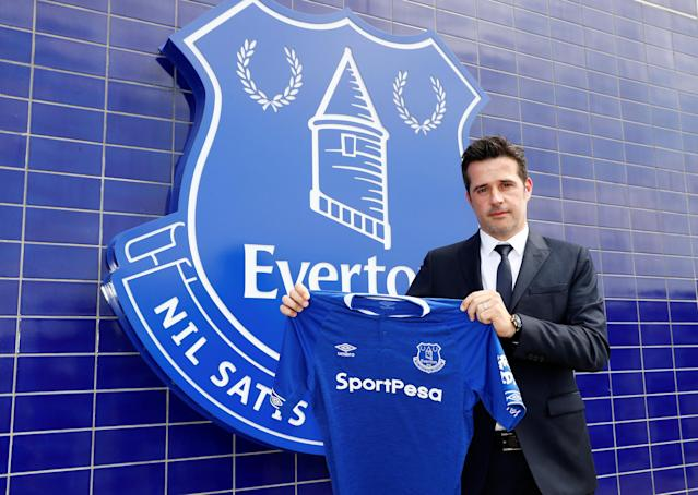 Soccer Football - England - Premier League - Everton - Marco Silva Press Conference - Finch Farm, Liverpool, Britain - June 4, 2018 Everton manager Marco Silva poses after the press conference REUTERS/Jason Cairnduff