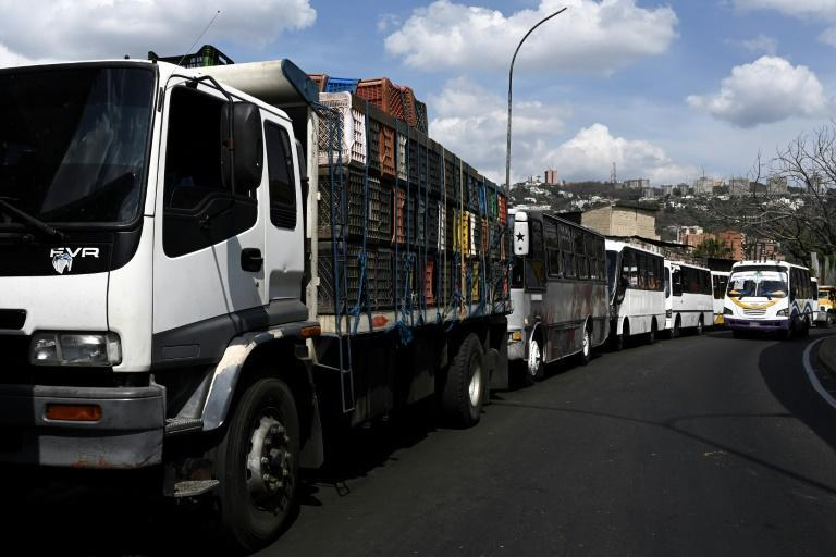Fuel imports have been all but frozen by US sanctions to punish socialist President Nicolas Maduro, whose 2018 re-election is not recognized by Washington and a number of other capitals.