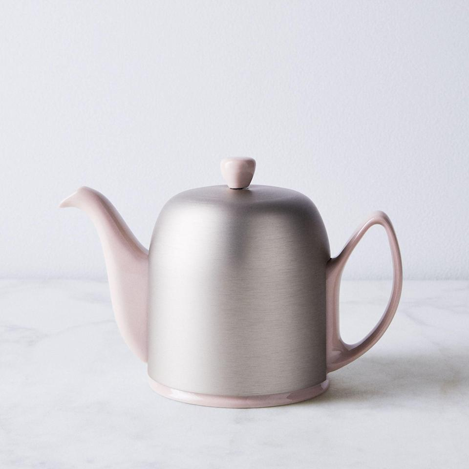<p>This modern <span>Degrenne Salam Insulated Teapot</span> ($164) will keep your drink warm for a long period of time.</p>