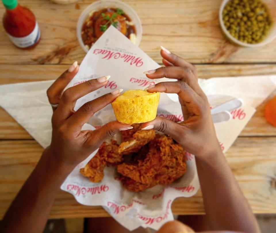 """<p><strong><a href=""""https://williemaesnola.com/"""" rel=""""nofollow noopener"""" target=""""_blank"""" data-ylk=""""slk:Willie Mae's Scotch House"""" class=""""link rapid-noclick-resp"""">Willie Mae's Scotch House</a>, New Orleans</strong></p><p>Willie Mae's is a true New Orleans classic that was first established in 1957. In 2005, Ms. Willie Mae Seaton was even honored with the prestigious James Beard Award for """"America's Classic Restaurant for the Southern Region,"""" so this is a definite must-visit when you're in the area! </p>"""