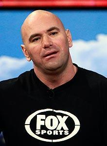 """UFC president Dana White expects the Fox deal to grow business to """"another level."""""""