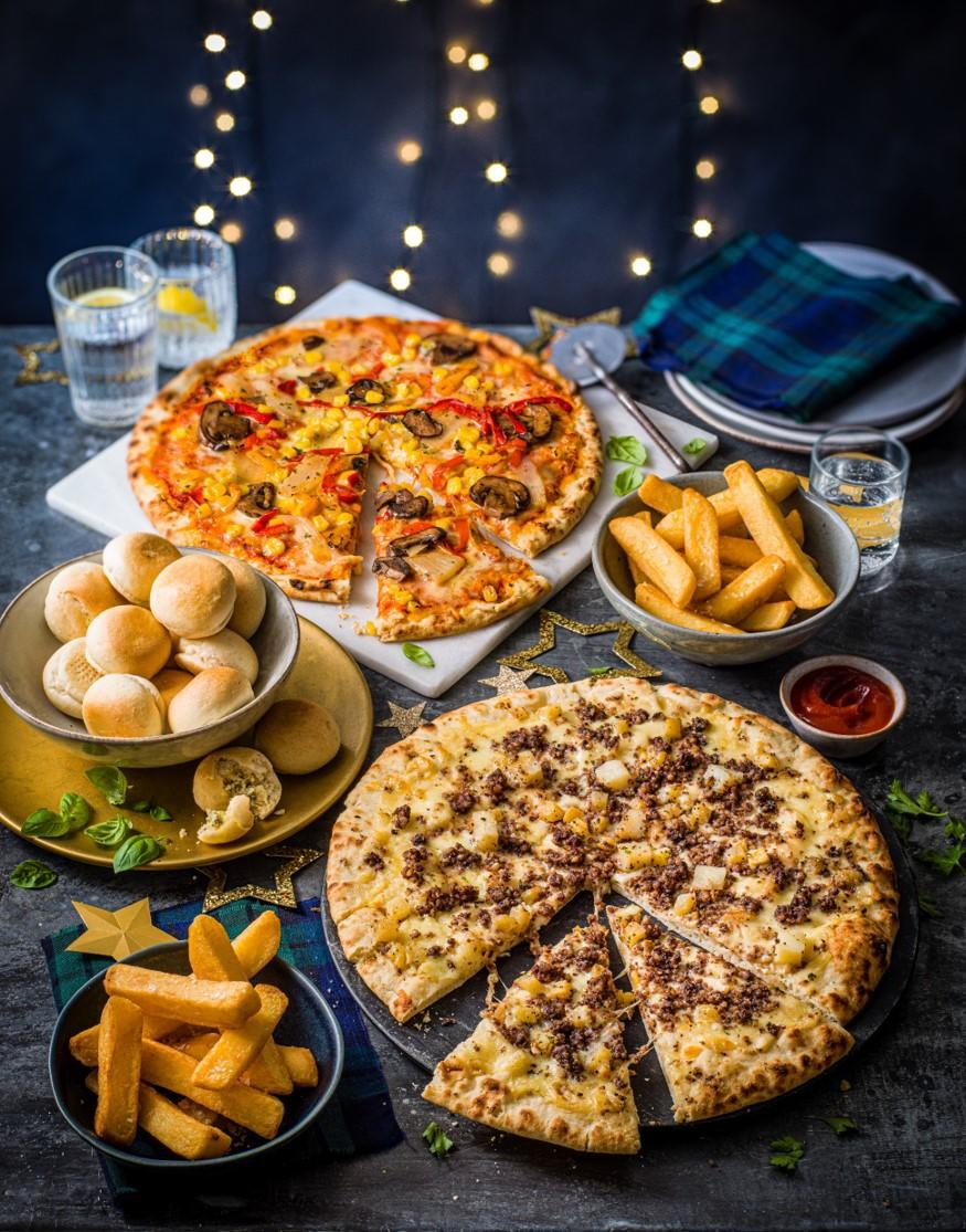 M&S hogmanay pizza deal