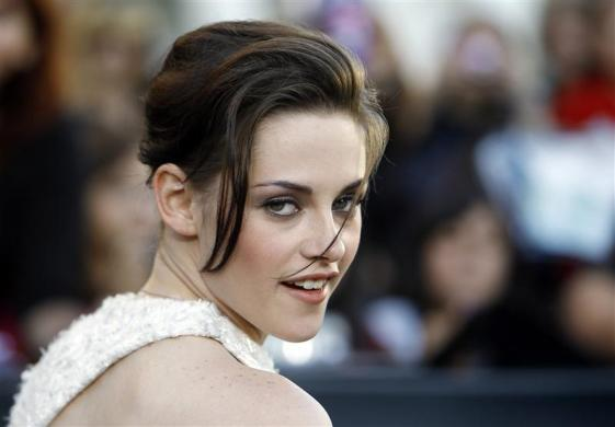 1: Kristen Stewart has knocked Angelina Jolie out of the top spot as Hollywood's highest paid actress in the latest ranking from Forbes. The 22-year-old earned an estimated $34.5 million over the last year.