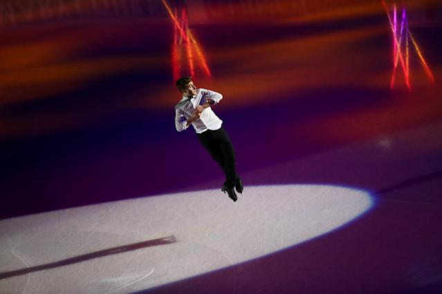 Figure Skating - World Figure Skating Championships - The Mediolanum Forum, Milan, Italy - March 25, 2018 Italy's Matteo Rizzo during the gala REUTERS/Alessandro Bianchi