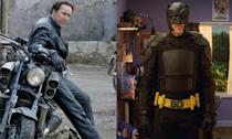 <p>Nicolas Cage never got to play Superman in the end but he did do two movies as Johnny Blaze in <em>Ghost Rider</em> and <em>Ghost Rider: Spirit of Vengeance</em>. He also played Big Daddy in the first <em>Kick-Ass</em> movie. </p>