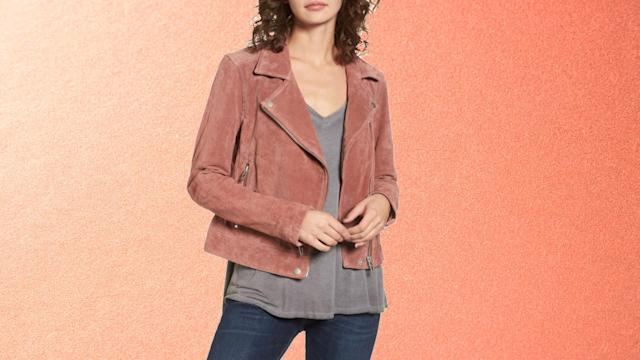 BLANKNYC Suede Moto Jacket. (Photo: Nordstrom)
