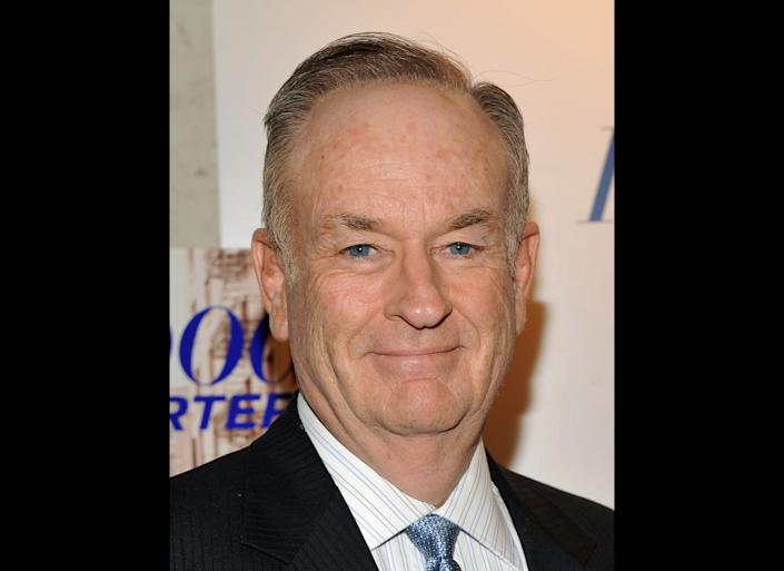 NEW YORK, NY - APRIL 11: Bill O'Reilly attends the Hollywood Reporter celebration of 'The 35 Most Powerful People in Media' at the Four Season Grill Room on April 11, 2012 in New York City. (Photo by Stephen Lovekin/Getty Images)