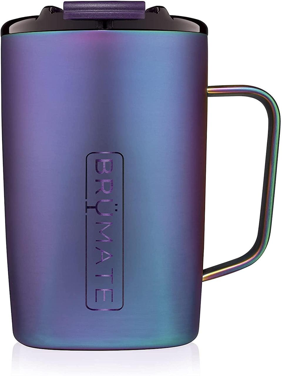 <p>The <span>BrüMate Toddy</span> ($30) is 100 percent leakproof and comes with a handle. It comes in a variety of colors, including a few shimmery options.</p>