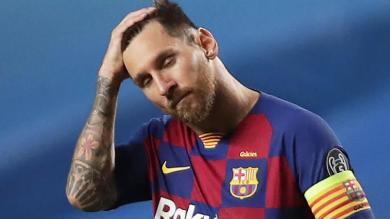 Lionel Messi has reluctantly agreed to remain with Barcelona, in order to avoid a likely court battle to leave the club. (Photo by Manu Fernandez/Pool via Getty Images)