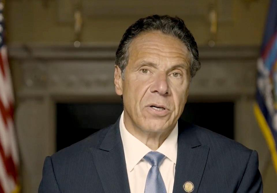 Cuomo Sexual Harassment Response (ASSOCIATED PRESS)