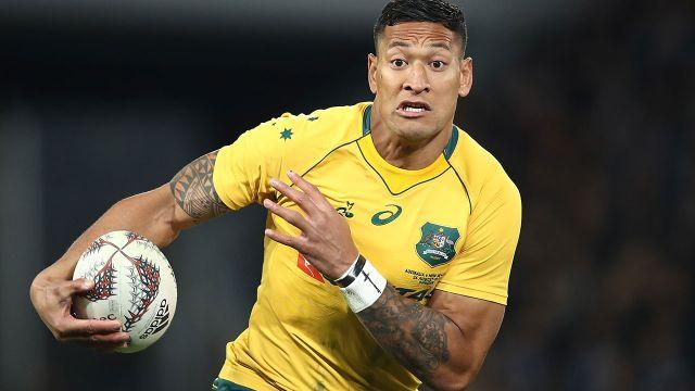 Folau in action. Image: Getty